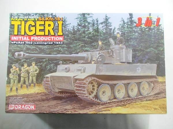ドラゴン 1/35 タイガーⅠ 戦車極初期型用 6252