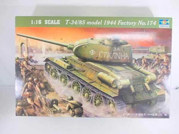 トランペッター 1/16 T34/85 1944年型 No.174 00904