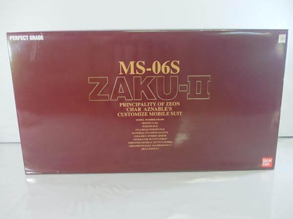 PG 1/60 MS-06S ザクⅡ 0071870