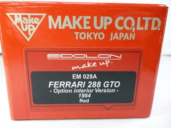 メイクアップ 1/43【フェラーリ288 GTO '84】#EM028A