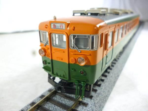 KATO 3-507 165系急行形電車 低屋根 3両セット