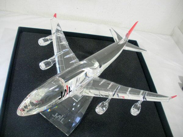 JALUX クリスタルモデルプレーン JA8088 全長約50cm