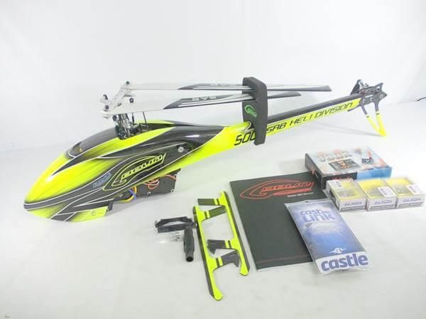 ゴブリン 500 MIKADO Vbar/ALIGN DS515M
