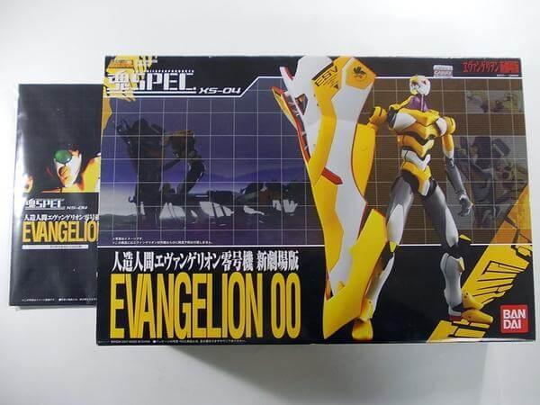魂SPEC XS-04 エヴァ零号機 新劇場版
