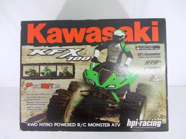 HPI カワサキ KFX 700 モンスター ATV