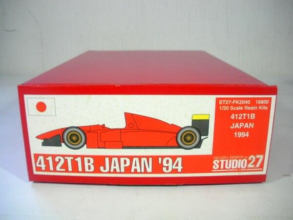 スタジオ27 1/20【412T1B JAPAN'94】FK2040