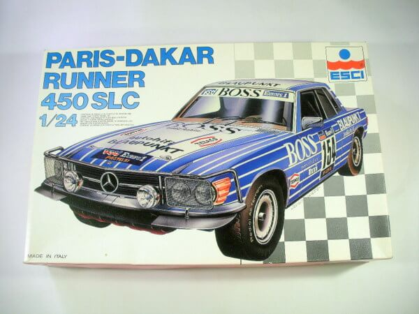 エッシー1/24【PARIS-DAKAR RUNNER 450 SLC】3052