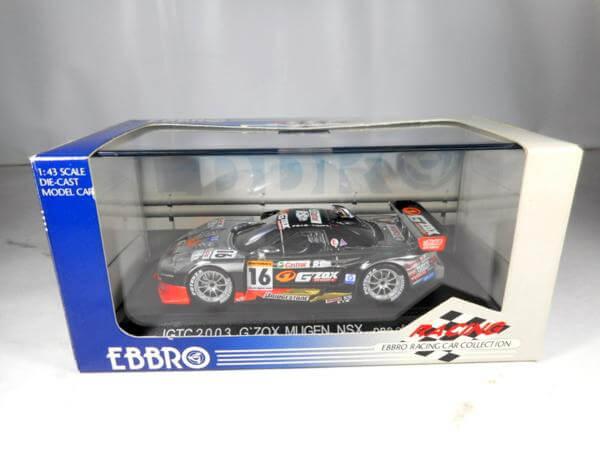 エブロ 1/43 JGTC2003 G'ZOX MUGEN NSX #16 #460