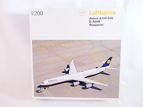 ヘルパ 1/200 ルフトハンザ エアバス A340-600