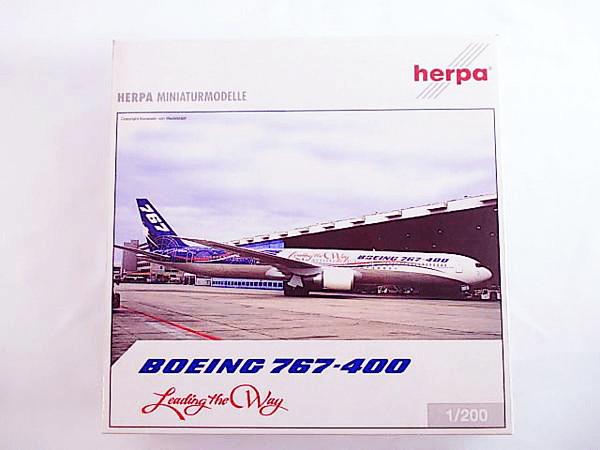 ヘルパ 1/200 ボーイング767-400 Leading the Way