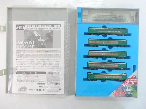 マイクロエース A1483 DE10-1660 50系 釧路湿原ノロッコ号 6両