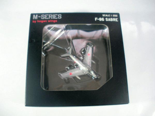 M-SERIES 1/200 F-86 セイバー 空自 三沢基地