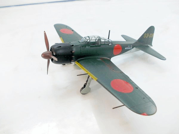 マルシン 1/48 A6M5 零式艦上戦闘機 52型