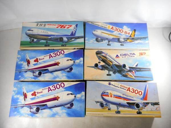 ハセガワ 1/200 ANA B767/デルタ B767/Thai A300