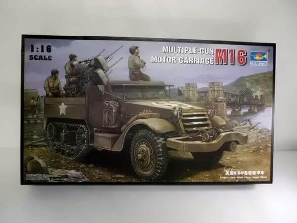 トランペッター 1/35【M16モーターキャリア】00911