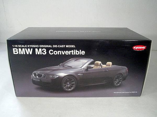 京商1/18【BMW M3 コンバーチブル】08738RB