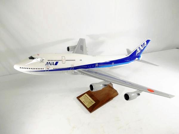 パックミン 1/100 ANA B747-400D #JA8964A