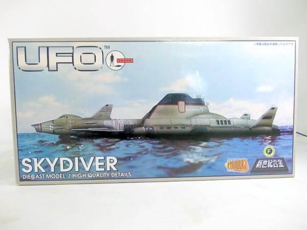 新世紀合金 謎の円盤UFO スカイダイバー SGM-07