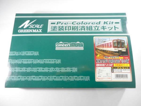 グリーンマックス N SCALE 近鉄5800系 L/Cカー 6両編成