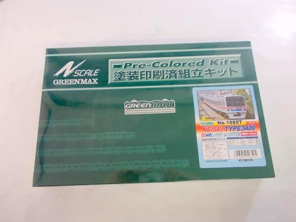 グリーンマックス 1085T 京成3400形 4輛編成トータルセット