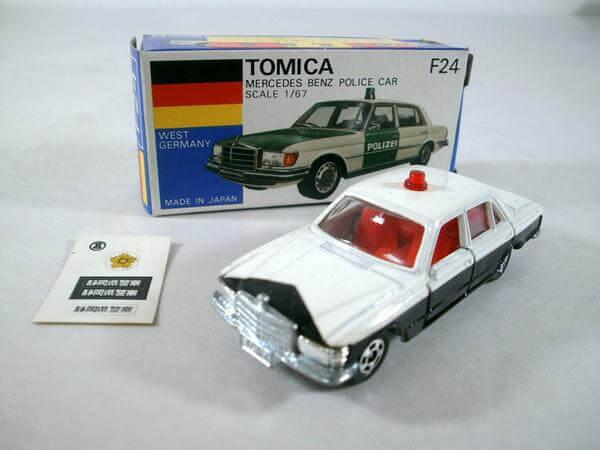 トミカ 高島屋 メルセデスベンツ 450SEL ポリスカー