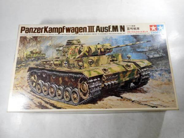 小鹿タミヤ 1/35 ドイツ 3号戦車 リモコンタンク #236