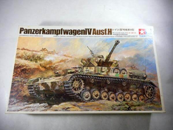 小鹿タミヤ 1/35 ドイツ Ⅳ号戦車H型 リモコンタンク #4045