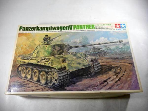 小鹿タミヤ 1/35 ドイツ パンサー中戦車 リモコン