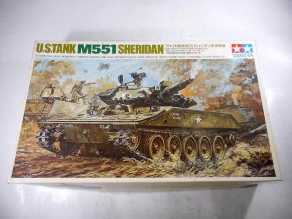 小鹿タミヤ 1/35 M551 シェリダン空挺戦車 リモコン