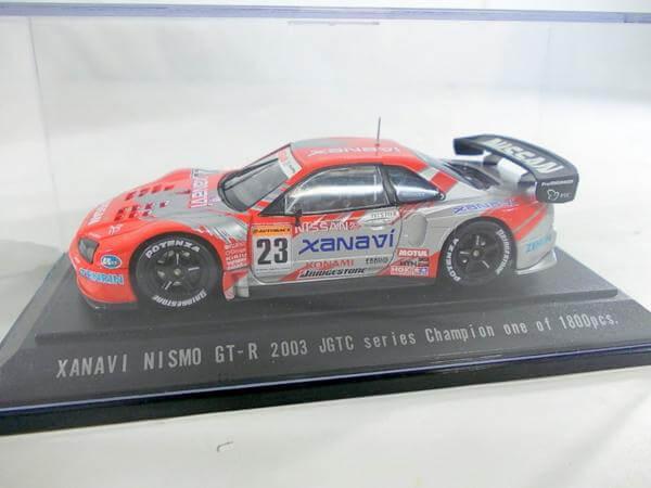 エブロ 1/43 ザナヴィ GT-R #23 JGTC 2003 470