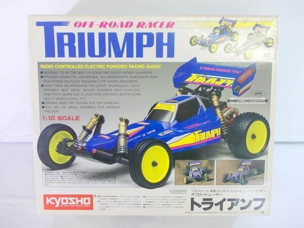 京商 1/10 オフロードレーサー トライアンフ 4301