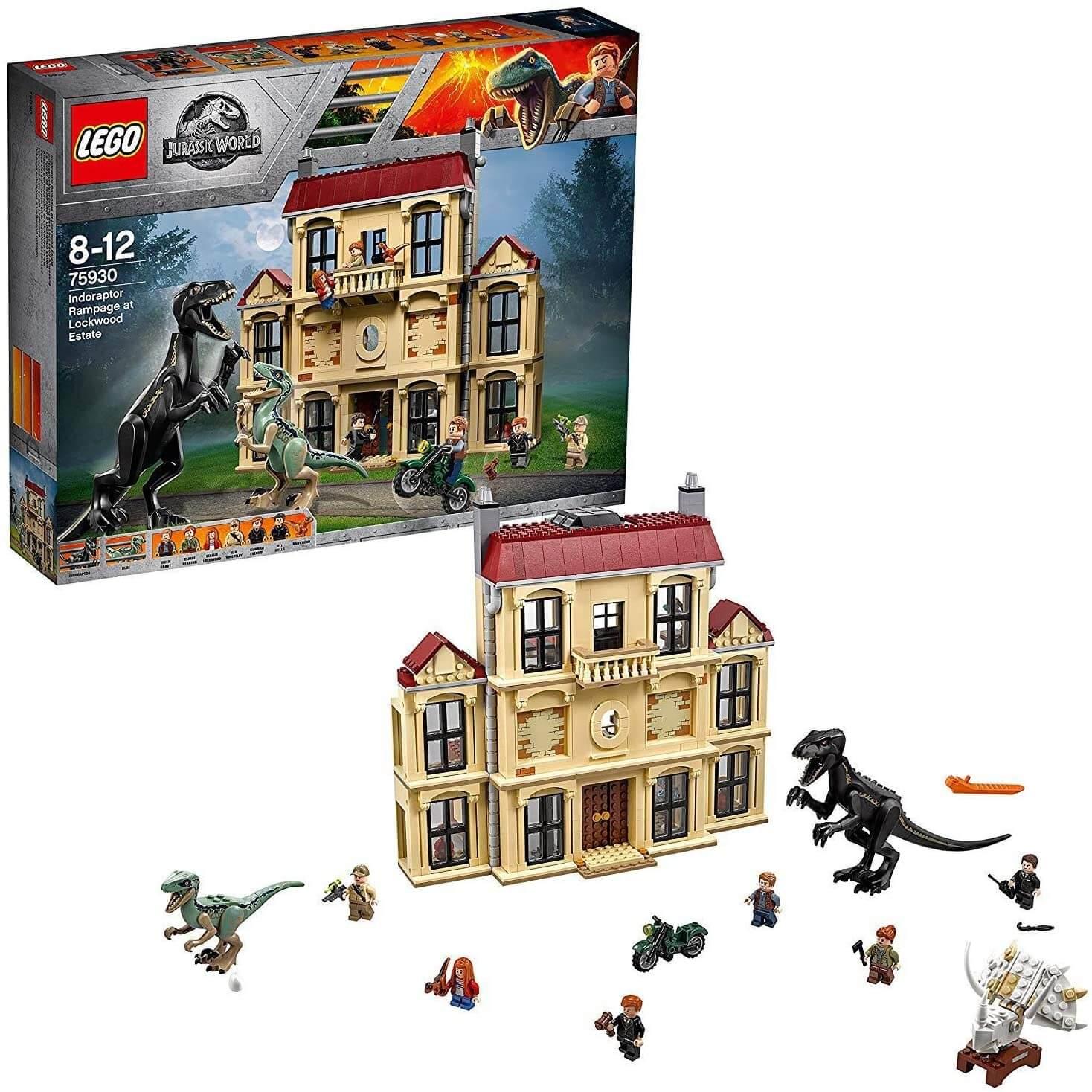 LEGO ジュラシック・ワールド インドラプトル、ロックウッド邸で大暴れ 75930 を高額買取