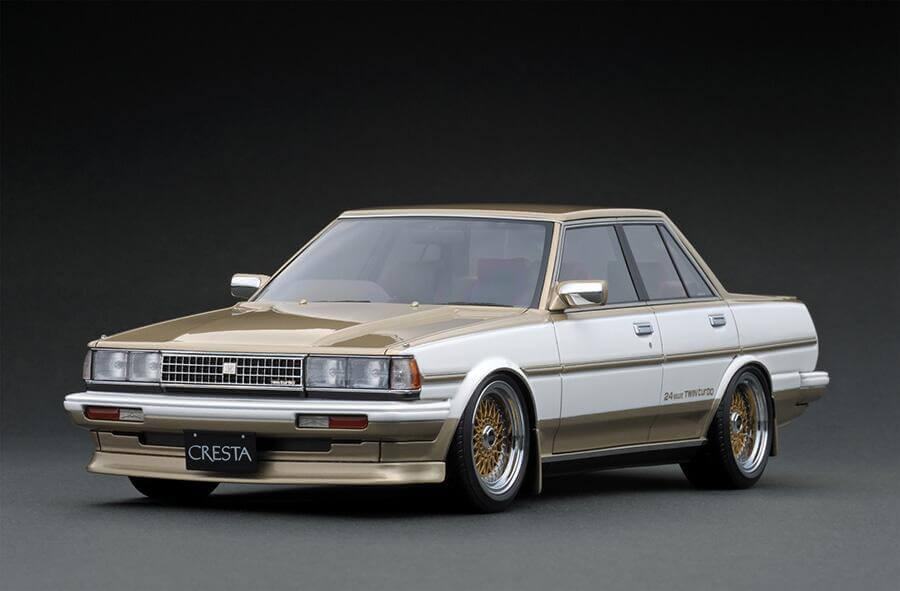 ignition model 1/18 トヨタ クレスタ GTツインターボ GX71 後期 ホワイトをお買取しました!