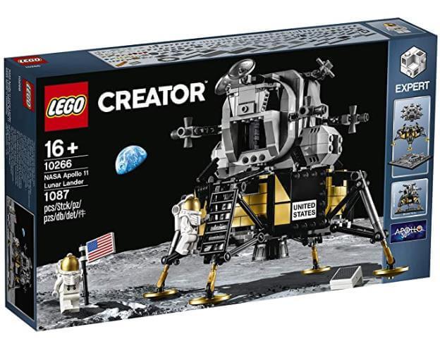 レゴ LEGO クリエイターエキスパート 10266 NASA アポロ11号 月着陸船をお買取しました!