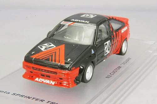 エニフ ENIF 1/43 トヨタ スプリンター トレノ N2 1986 カスタム アドバン 24をお買取しました!