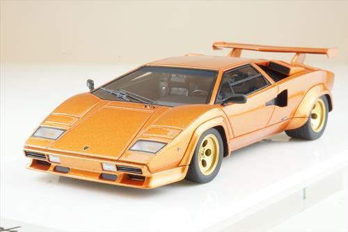 アイドロン 1/43 ランボルギーニ カウンタック LP400S 1980 メタリックオレンジ 全国宅配買取