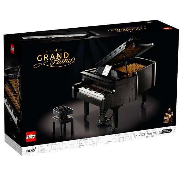 レゴ LEGO 21323 アイデア グランドピアノ 全国宅配買取