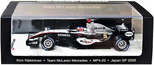 スパーク 1/43 マクラーレン MP4/20 日本GP 2005 #9 全国宅配買取