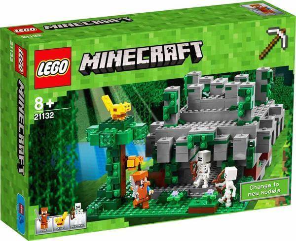 LEGO 21132 マインクラフト ジャングルの寺院