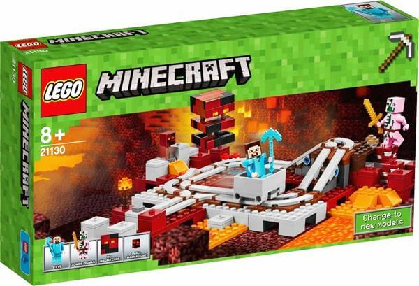 LEGO 21130 マインクラフト 暗黒界の線路