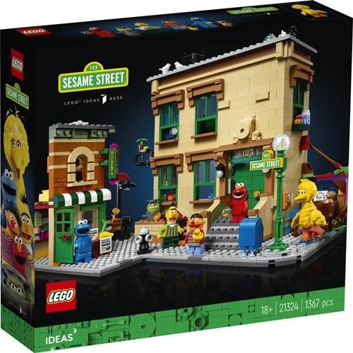 LEGO 21324 レゴ セサミスストリート