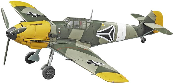 ハセガワ クリエーターワークス 終末のイゼッタ メッサー Bf109E-4