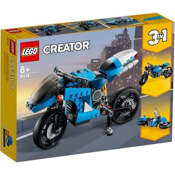 LEGO レゴ クリエーター 31114 スーパーバイク
