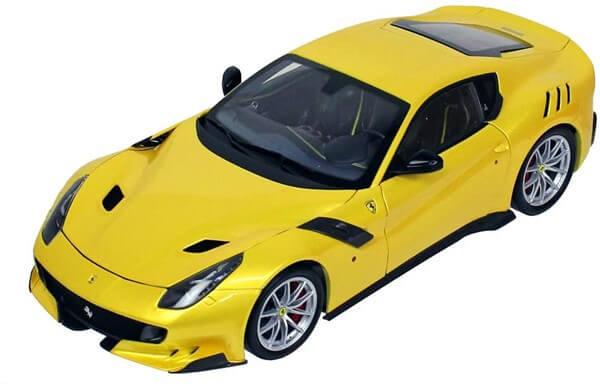BBR 1/18 フェラーリ F12 TDF イエローメタリック 全国宅配買取
