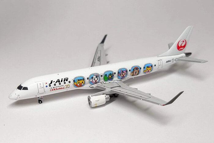JC Wings J-AIR エンブラエル190 JA254J しまじろうジェット
