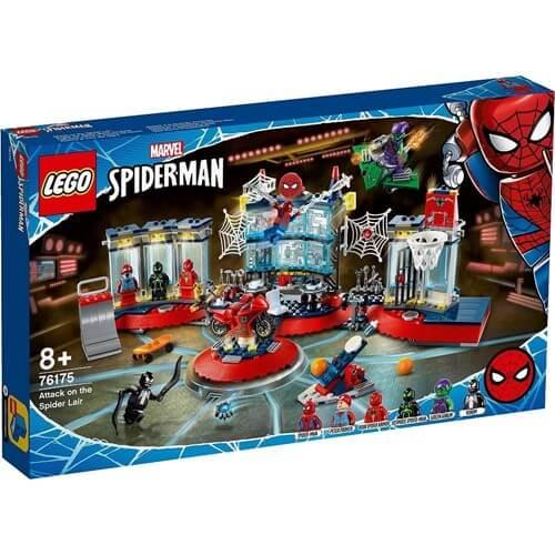レゴ スーパー・ヒーローズ 76175 スパイダーマンのかくれ家への攻撃
