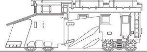 ワールド工芸 Nゲージ 国鉄 キ100形 ラッセル車 溶接車体タイプ 組立キット