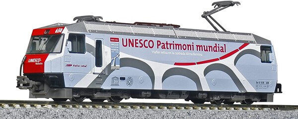 KATO 3101-3 アルプスの機関車 Ge44-III ユネスコ塗色 電気機関車