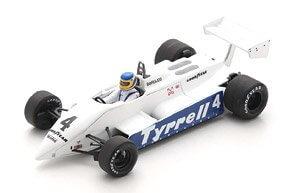 スパーク 1/43 Tyrrell 011 No.4 South African GP 1982 Slim Borgudd 全国宅配買取