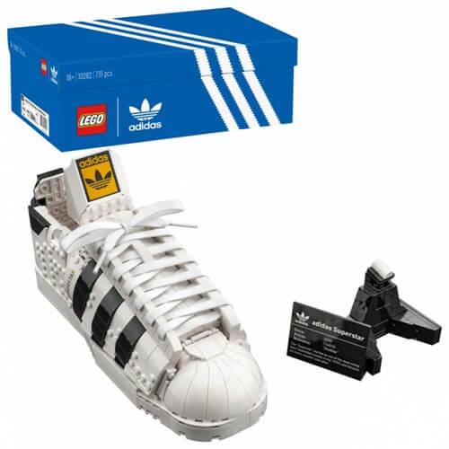LEGO レゴ 10282 アディダス オリジナルス スーパースター 全国宅配買取